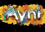 Ayni, aini, logotipo ayni, nefershu lotus company, nefershu, mamut, mamut art studio